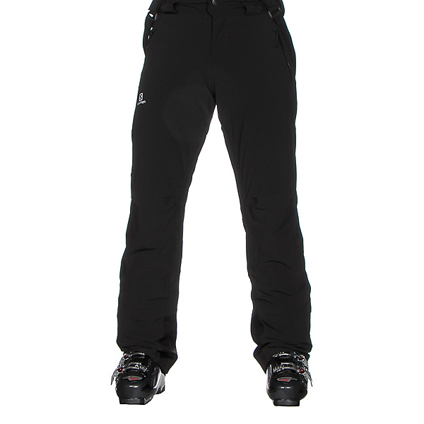 Salomon Iceglory Short Mens Ski Pants, Black, 600