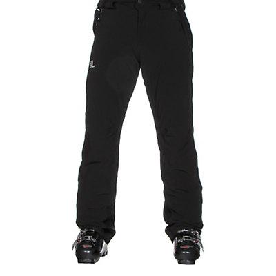 Salomon Iceglory Short Mens Ski Pants, Black, viewer