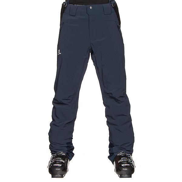 Salomon Iceglory Short Mens Ski Pants, Big Blue X, 600