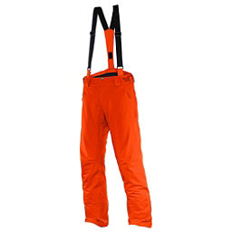 Salomon Iceglory Short Mens Ski Pants, Vivid Orange, 256