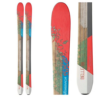 Nordica Belle 88 Womens Skis 2017, , viewer