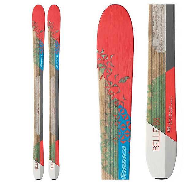 Nordica Belle 88 Womens Skis 2017, , 600