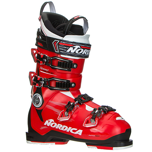 Nordica Speedmachine 130 Ski Boots 2017, Red-Black-White, 600