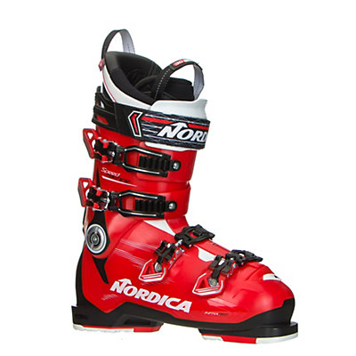 Nordica Speedmachine 130 Ski Boots 2017, Red-Black-White, viewer
