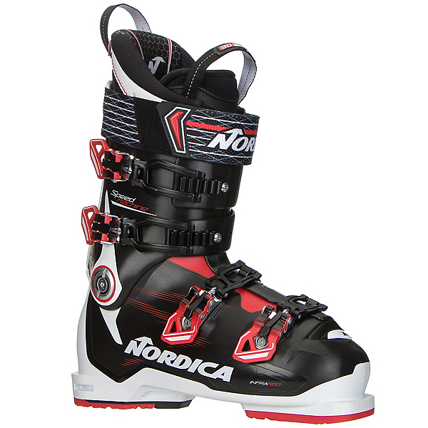 Nordica Speedmachine 120 Ski Boots 2017, Black-Red-White, 600