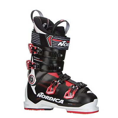 Nordica Speedmachine 120 Ski Boots 2017, Black-Red-White, viewer
