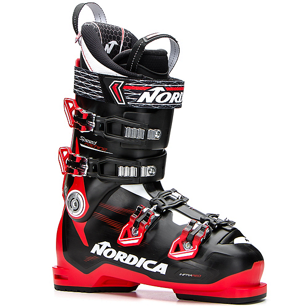 Nordica Speedmachine 110 Ski Boots 2018, Black-Red-White, 600