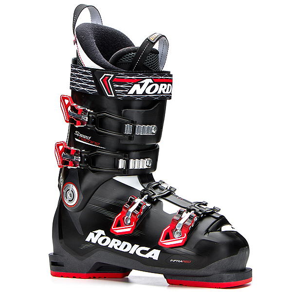 Nordica Speedmachine 100 Ski Boots 2017, Black-Red-Anthracite, 600