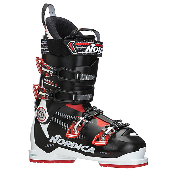 Nordica Speedmachine 100 Ski Boots 2018, White-Black-Red, 600
