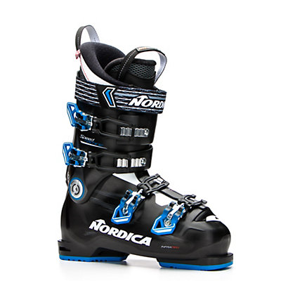 Nordica Speed Machine 90 Ski Boots 2017, Black-Blue-Anthracite, viewer