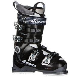 Nordica Speedmachine 85W Womens Ski Boots 2017, Black-White-Anthracite, 256