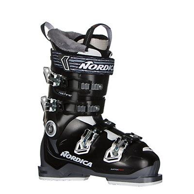 Nordica Speedmachine 85W Womens Ski Boots 2017, Black-White-Anthracite, viewer