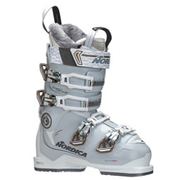 Nordica Speedmachine 85 W Womens Ski Boots 2018, White-Ice-Bronze, 256