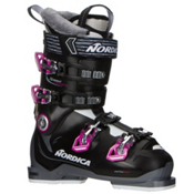 Nordica Speedmachine 75 W Womens Ski Boots 2017, Black-Anthracite-Fuscia, medium