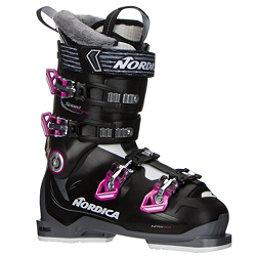 Nordica Speedmachine 75 W Womens Ski Boots 2017, Black-Anthracite-Fuscia, 256