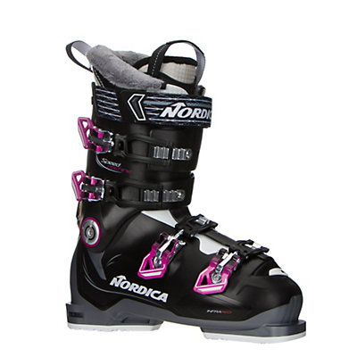 Nordica Speedmachine 75 W Womens Ski Boots 2017, Black-Anthracite-Fuscia, viewer