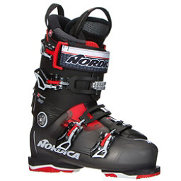 Nordica N-Move 120 Ski Boots 2017, Black Transparent-Red, 256