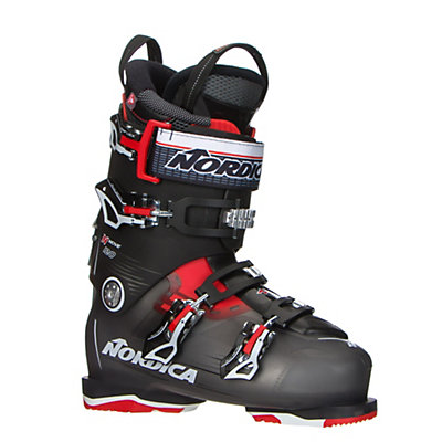 Nordica N-Move 120 Ski Boots 2017, Black Transparent-Red, viewer