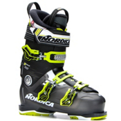 Nordica N-Move 100 Ski Boots 2017, Black Transparent-Lime, medium