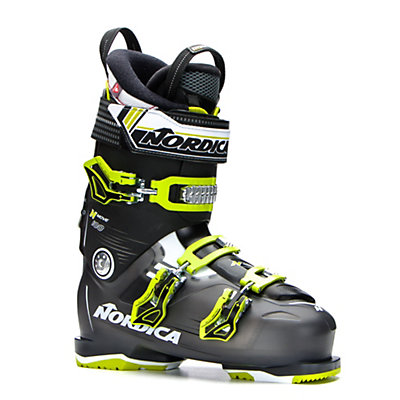 Nordica N-Move 100 Ski Boots 2017, Black Transparent-Lime, viewer