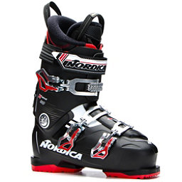 Nordica N-Move 80 Ski Boots, Black-Red, 256