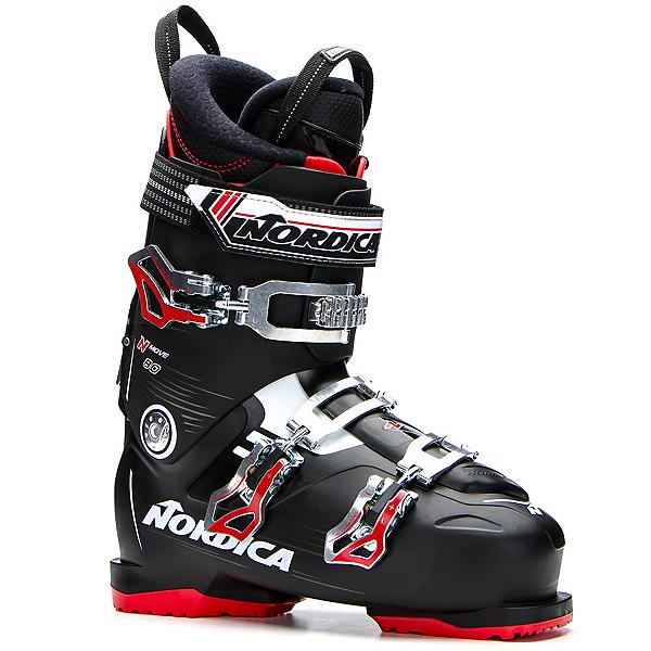 Nordica N-Move 80 Ski Boots 2017, Black-Red, 600
