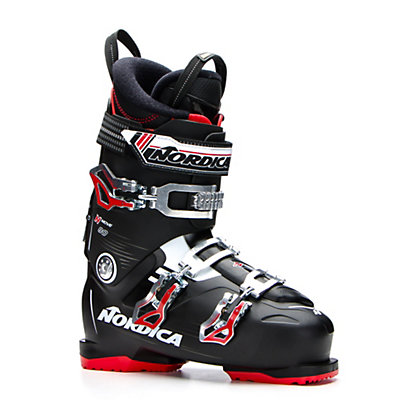 Nordica N-Move 80 Ski Boots 2017, Black-Red, viewer
