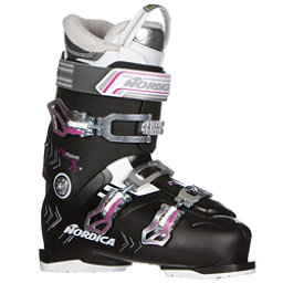 Nordica N-Move 75 W Womens Ski Boots 2017, Black-Fuscia, 256