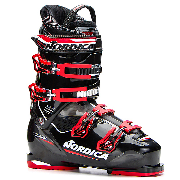 Nordica Cruise 110 Ski Boots 2017, Black-Red, 600