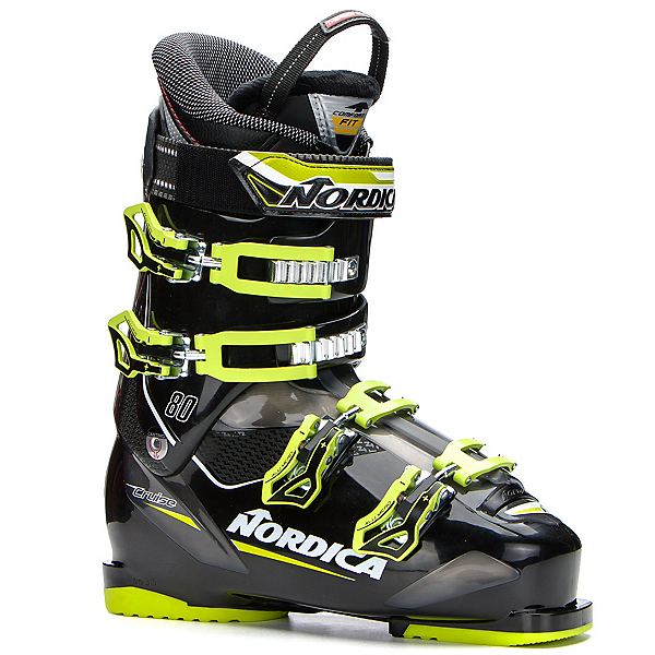 Nordica Cruise 80 Ski Boots 2017, Black-Lime, 600