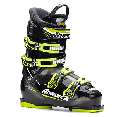 Nordica Cruise 80 Ski Boots 2017, Black-Lime, viewer