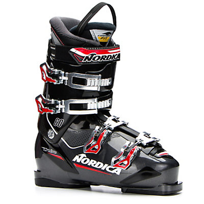 Nordica Cruise 60 Ski Boots 2017, Black-Grey, viewer