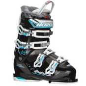 Nordica Cruise 85W Womens Ski Boots 2017, Black-Light Blue, medium