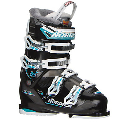 Nordica Cruise 85W Womens Ski Boots 2017, Black-Light Blue, viewer