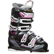 Nordica Cruise 75W Womens Ski Boots 2017, Black-Fuscia, medium