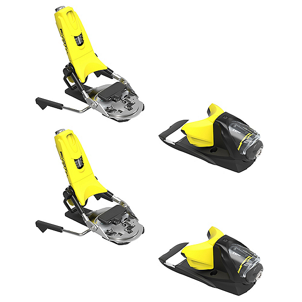 Look Pivot 14 Dual Ski Bindings 2018, Yellow-Black, 600