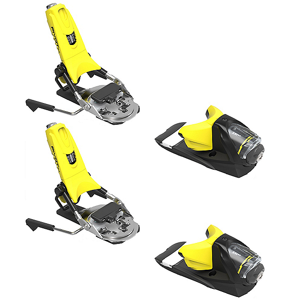 Look Pivot 12 Dual Ski Bindings 2018, Yellow-Black, 600