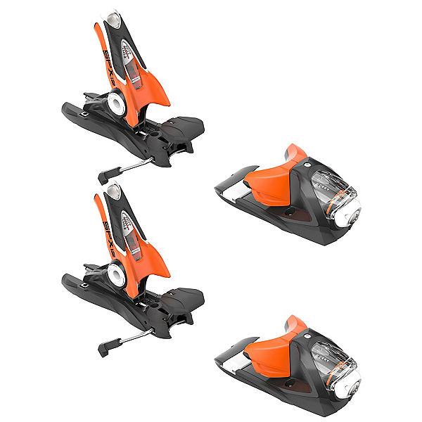 Look SPX 12 Dual Ski Bindings 2017, Black-Orange, 600