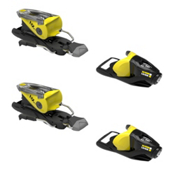 Look NX 11 Ski Bindings 2017, Black-Yellow, medium