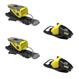 Look NX 11 Ski Bindings 2017, Black-Yellow, 256