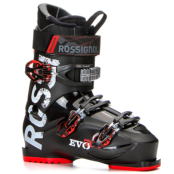 Rossignol Evo 70 Ski Boots 2018, Black-Red, 600