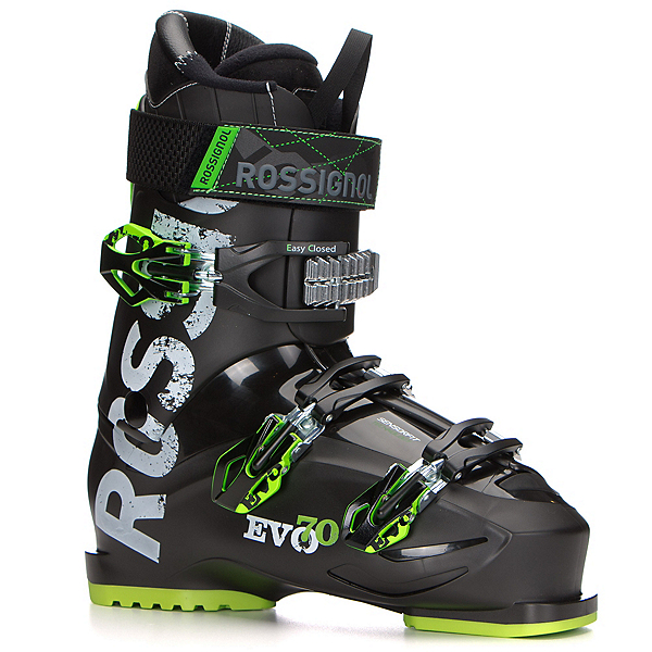 Rossignol Evo 70 Ski Boots 2017, Black-Green, 600