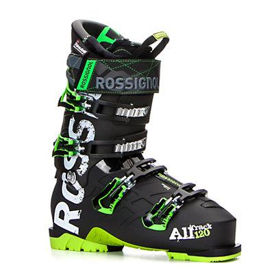 Rossignol AllTrack 120 Ski Boots 2017, Black-Green, viewer