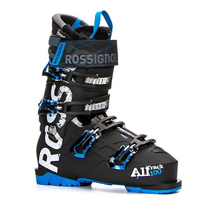Rossignol AllTrack 100 Ski Boots 2017, Black-Blue, viewer