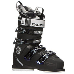 Rossignol Pure Elite 80 Womens Ski Boots, Black-Purple, 256