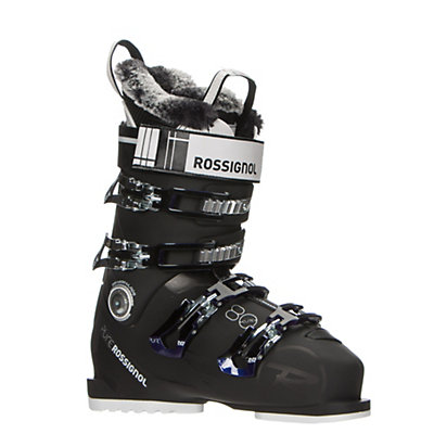 Rossignol Pure Elite 80 Womens Ski Boots 2017, Black-Purple, viewer
