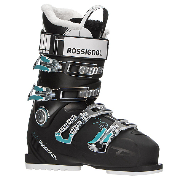 Rossignol Pure 70 Womens Ski Boots 2017, Black-Blue, 600