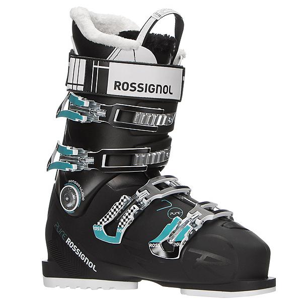 Rossignol Pure 70 Womens Ski Boots 2017, Black-Blue, 600