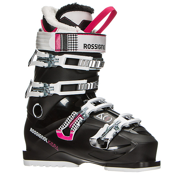 Rossignol Kiara 60 Womens Ski Boots 2017, Black-White, 600