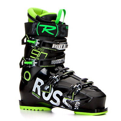 Rossignol Alias 90 Ski Boots 2017, Black-Green, viewer